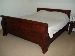 klassiek teak koloniaal ledikant bed slaapkamer