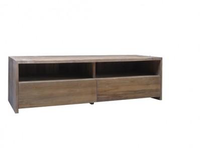 Grote Tv Kast : Teak tv meubel met grote laden tv kasten vindt u bij teak koloniaal