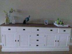 Wit dressoir 3m
