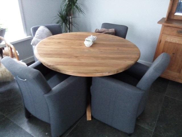 Teak Tafels Haarlem : Ronde teak tafel specialist in teak maatwerk