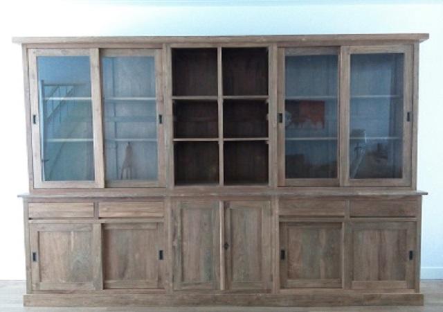 teak buffetkast 300cm specialist in teak maatwerk. Black Bedroom Furniture Sets. Home Design Ideas