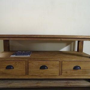 Teak tv meubel 130cm