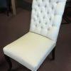 6x stoelen met knopen