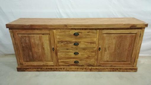 Grof houten dressoir
